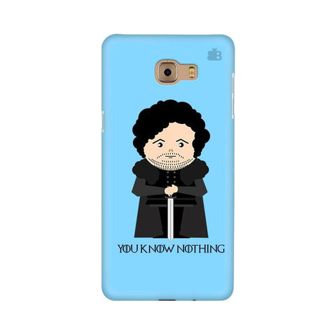 You Know Nothing Samsung C9 Pro Cover