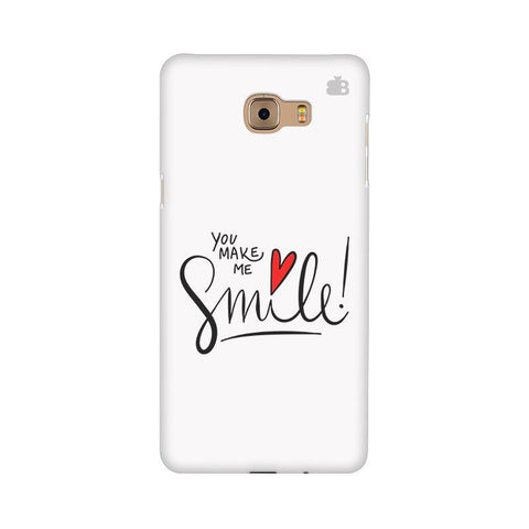 You make me Smile Samsung C9 Pro Cover
