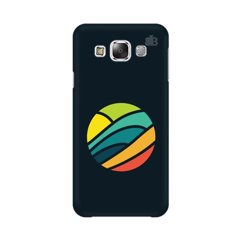 Abstract Circle Samsung E5 Cover