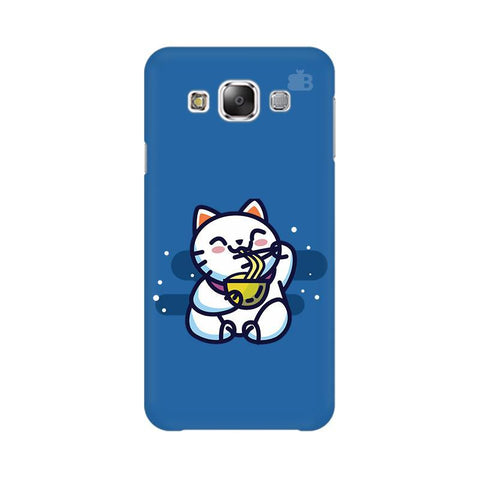 KItty eating Noodles Samsung E5 Cover