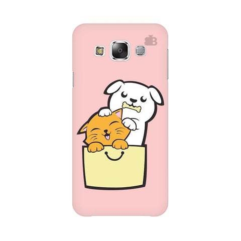 Kitty Puppy Buddies Samsung E5 Cover