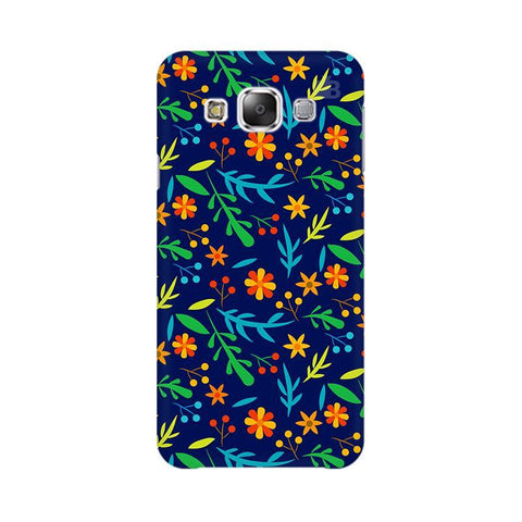 Vibrant Floral Pattern Samsung E5 Cover