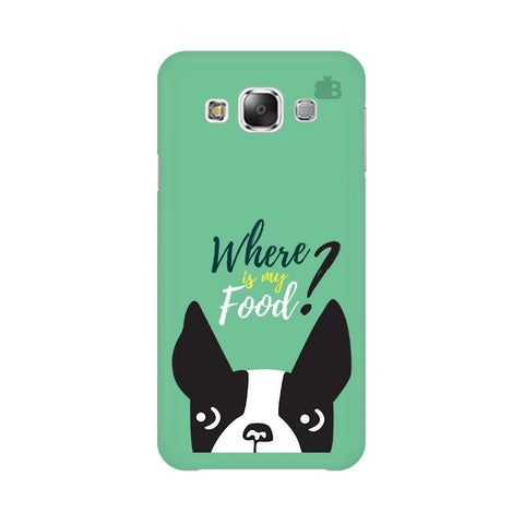 Where is my Food Samsung E5 Cover