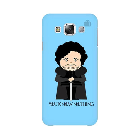 You Know Nothing Samsung E5 Cover