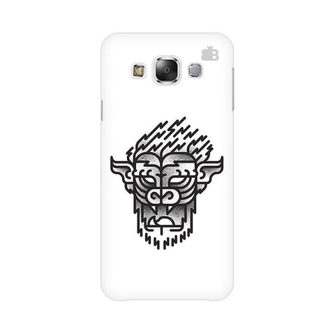 Arty Lion Samsung E7 Cover