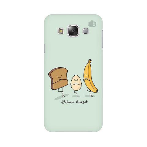 Balanced Breakfast Samsung E7 Cover