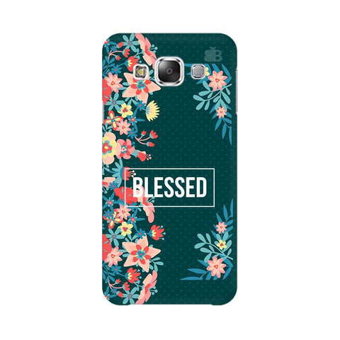 Blessed Floral Samsung E7 Cover