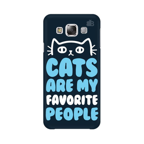 Cats favorite People Samsung E7 Cover