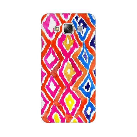 Colorful Ikat Samsung E7 Cover