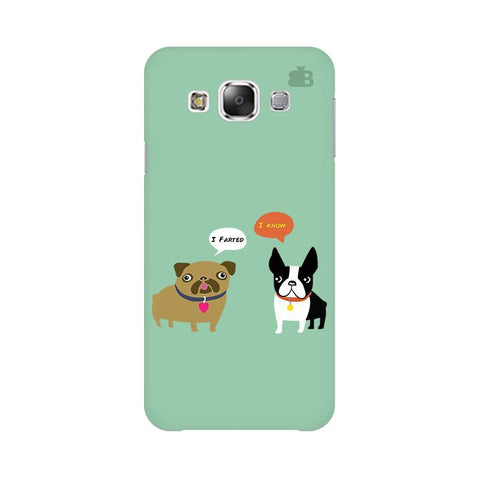 Cute Dog Buddies Samsung E7 Cover