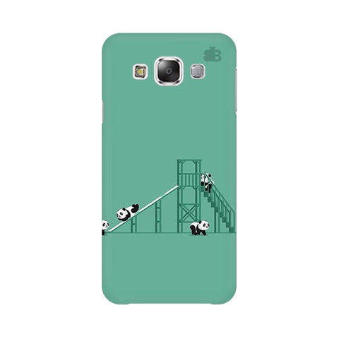 Pandas Playing Samsung E7 Cover