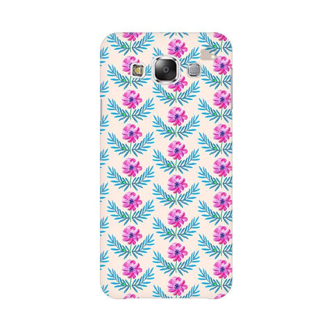 Pink Watercolor Pattern Samsung E7 Cover