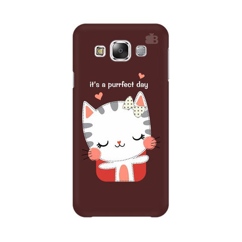 Purrfect Day Samsung E7 Cover