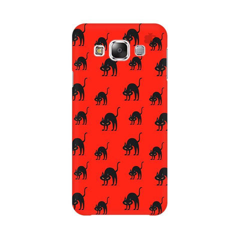 Scary Cats Samsung E7 Cover