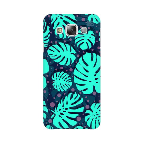 Tropical Leaves Pattern Samsung E7 Cover