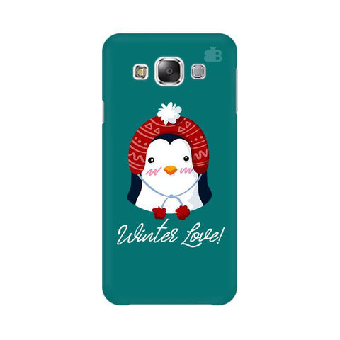 Winter Love Samsung E7 Cover