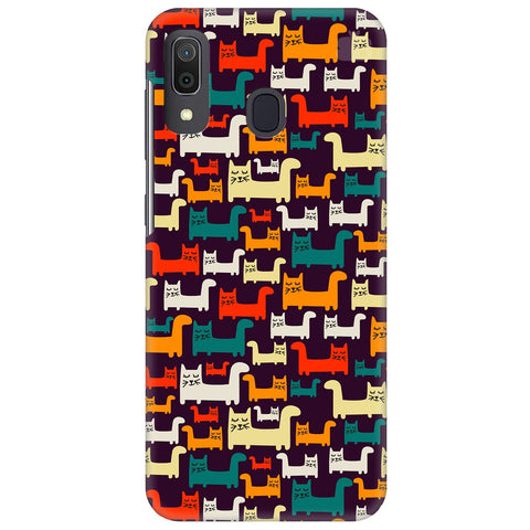 Chill Cats Samsung Galaxy A20 Cover