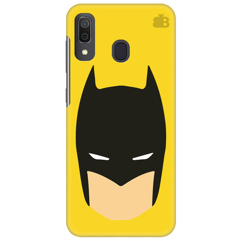 Angry Masked Superhero Samsung Galaxy A30 Cover