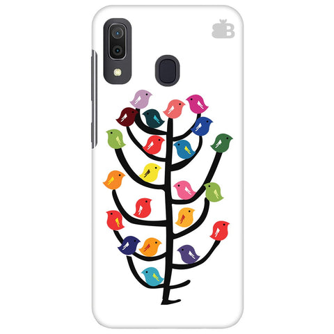 Birds On Trees Samsung Galaxy A30 Cover