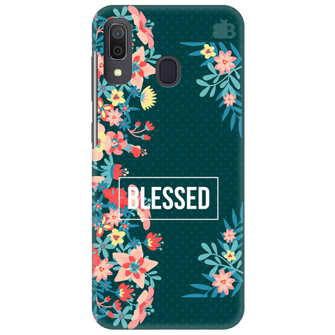 Blessed Floral Samsung Galaxy A30 Cover