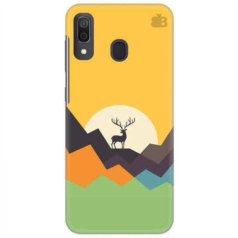 Deer In Mountains Samsung Galaxy A30 Cover