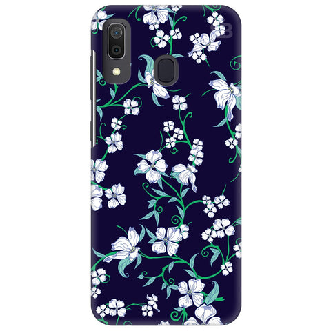 Dogwood Floral Pattern Samsung Galaxy A30 Cover