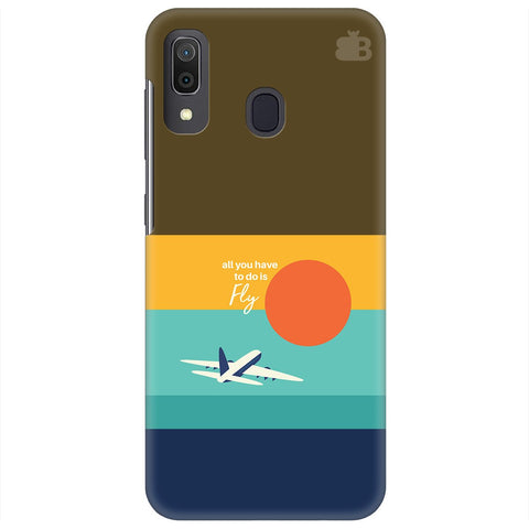 Just Fly Samsung Galaxy A30 Cover