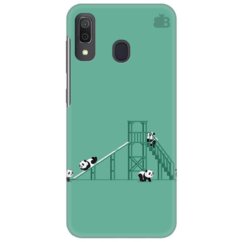 Pandas Playing Samsung Galaxy A30 Cover