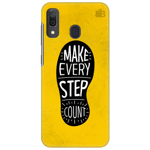 Step Count Samsung Galaxy A30 Cover