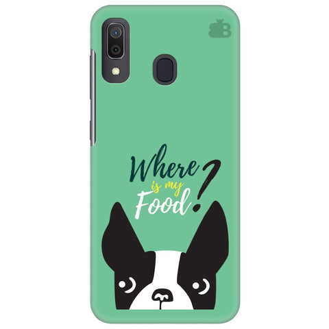 Where Is My Food Samsung Galaxy A30 Cover