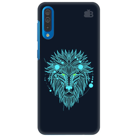 Abstract Art Lion Samsung Galaxy A50 Cover