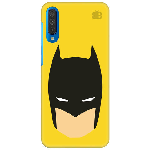 Angry Masked Superhero Samsung Galaxy A50 Cover