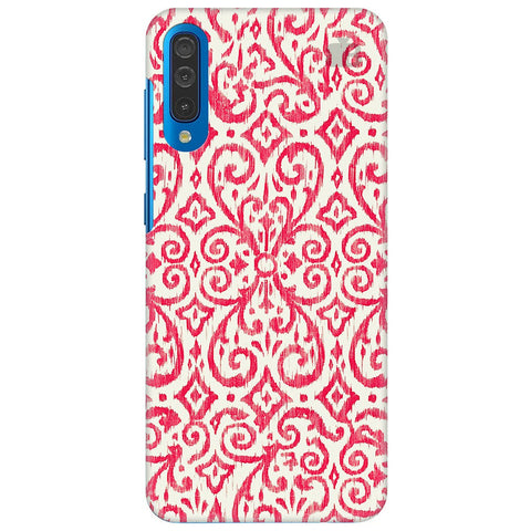 Bright Ikat Art Samsung Galaxy A50 Cover