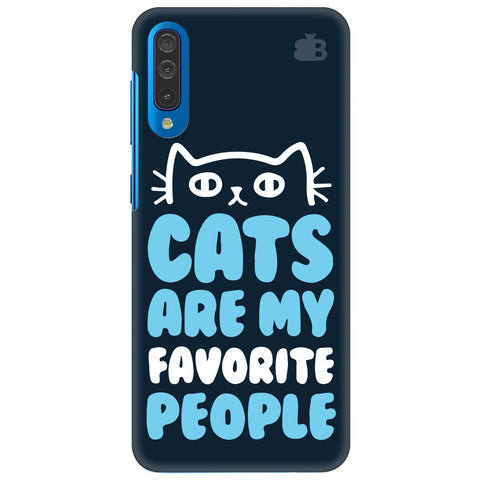 Cats Favorite People Samsung Galaxy A50 Cover