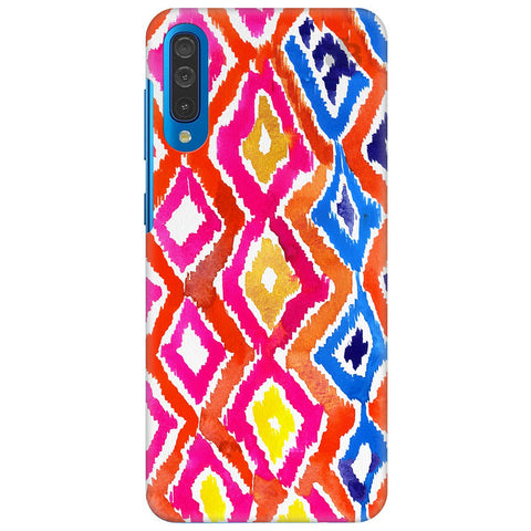 Colorful Ikat Samsung Galaxy A50 Cover