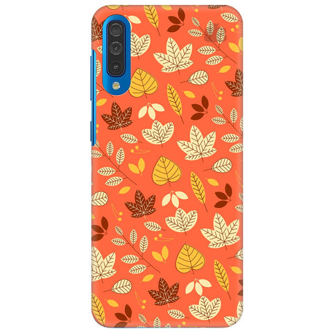 Cute Leaves Pattern Samsung Galaxy A50 Cover
