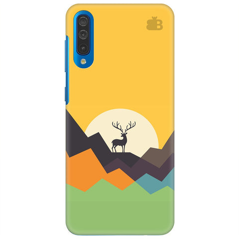 Deer In Mountains Samsung Galaxy A50 Cover