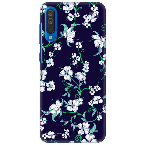 Dogwood Floral Pattern Samsung Galaxy A50 Cover