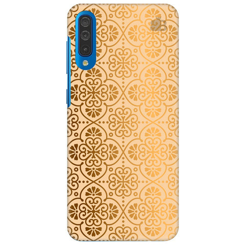 Ethnic Gold Ornament Samsung Galaxy A50 Cover