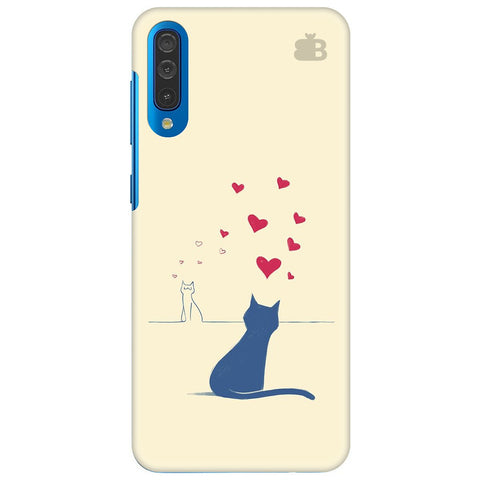 Kitty In Love Samsung Galaxy A50 Cover