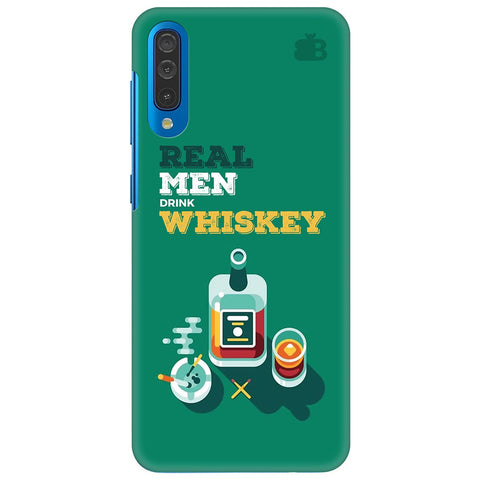 Men And Whiskey Samsung Galaxy A50 Cover
