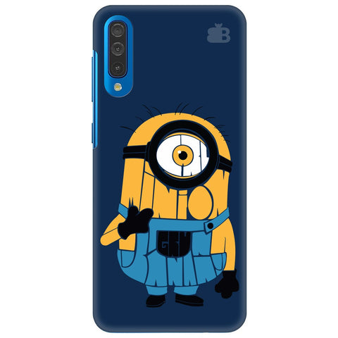 Minion Typography Samsung Galaxy A50 Cover