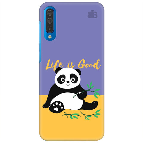 Panda Life Is Good Samsung Galaxy A50 Cover