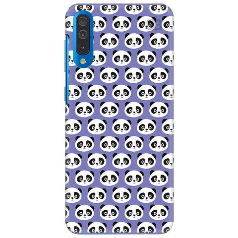 Panda Pattern Samsung Galaxy A50 Cover