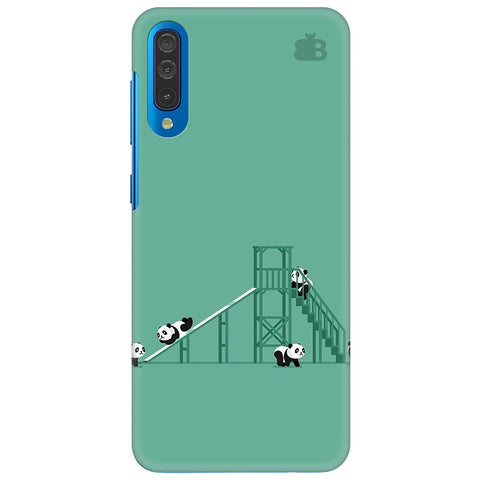 Pandas Playing Samsung Galaxy A50 Cover