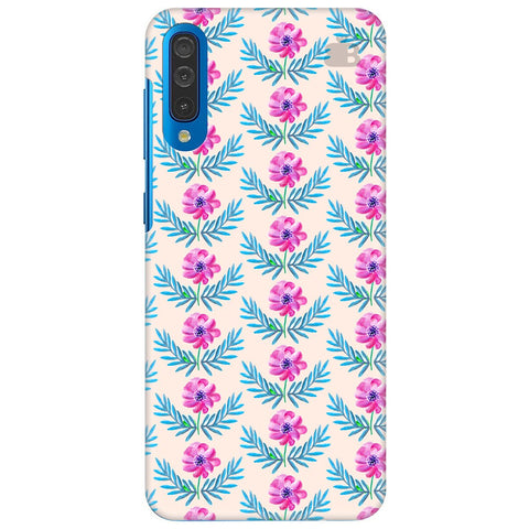 Pink Watercolor Pattern Samsung Galaxy A50 Cover