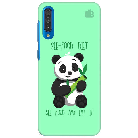 See-Food Diet Samsung Galaxy A50 Cover