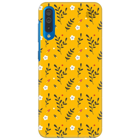 Summer Floral Pattern Samsung Galaxy A50 Cover