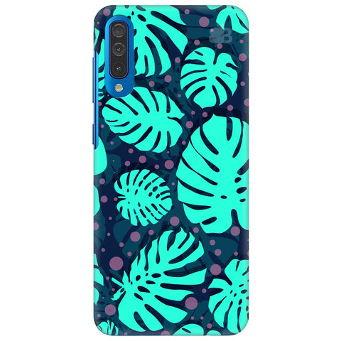 Tropical Leaves Pattern Samsung Galaxy A50 Cover