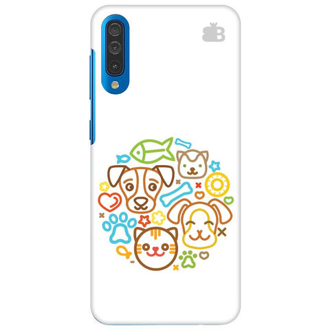 Cute Pets Samsung Galaxy A60 Cover
